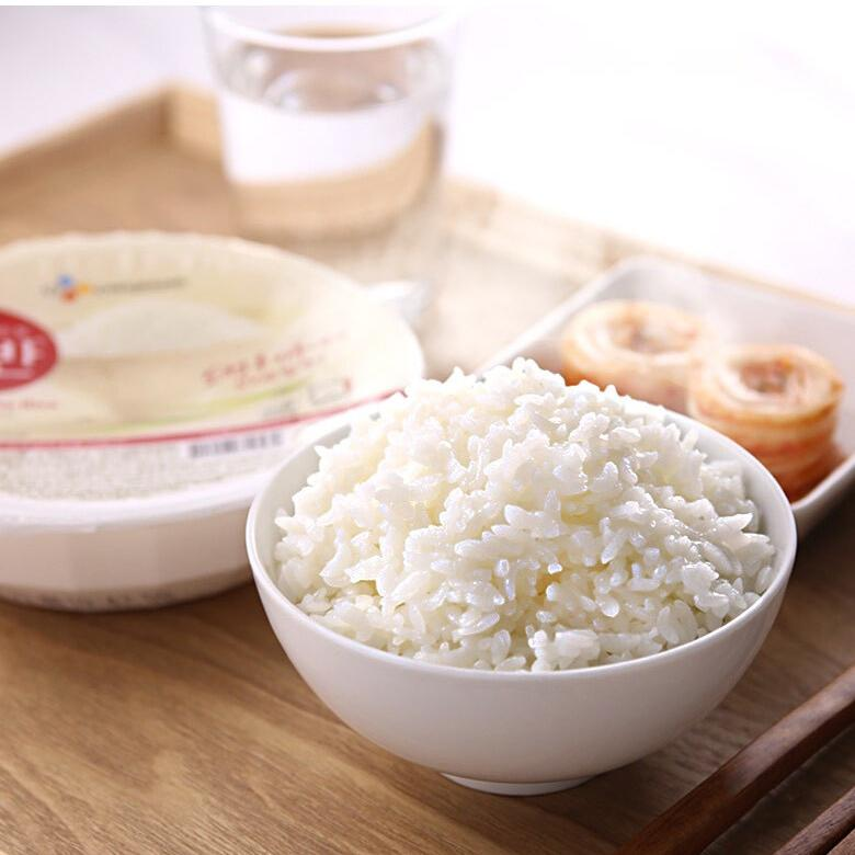 Microwaveable White Rice Small Portion (130g x 3pcs) | CJ Hetbahn