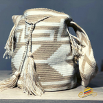 Load image into Gallery viewer, Wayúu Beige Bag