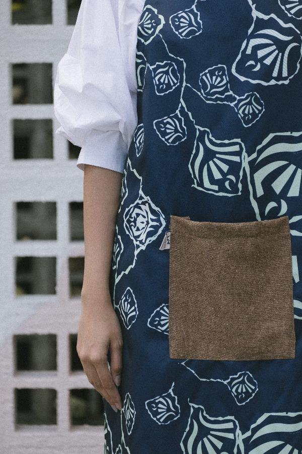 The Kita Apron - Rossa