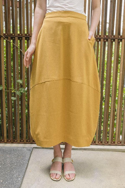 Bubble Skirt in Light Brown