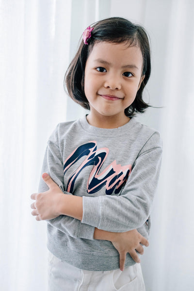 Alston KIDS Sweater Mimpikita in Grey