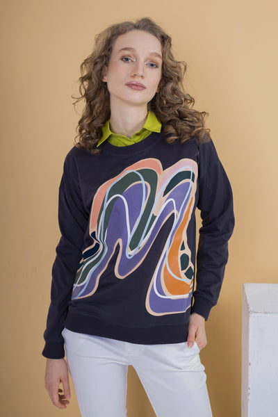 Alston Sweater Mimpikita in Dark Grey