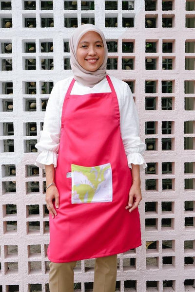 The Kita Apron - Fuschia Dream