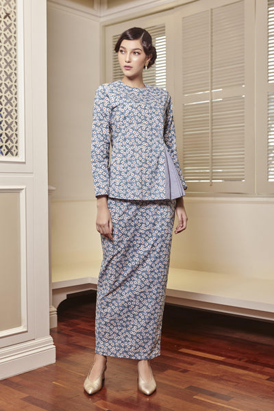 Sofia Side Pleated Kurung Set