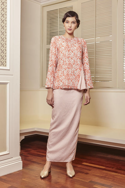 Sienna Side Pleated Kurung Set