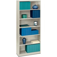 HON Brigade 6-Shelf Bookcase, 34-1/2
