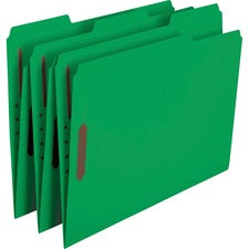 Smead Fastener File Folders with Reinforced Tab