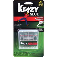Elmer's Single-use Tubes Instant Krazy Glue