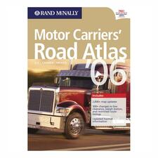 Rand McNally Motor Carriers' Road Atlas Printed Manual
