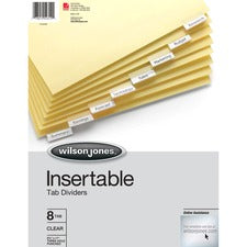 Wilson Jones Insertable Tab Dividers