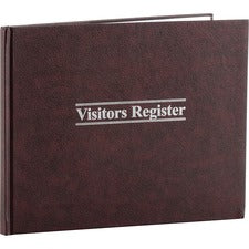 Wilson Jones Visitors Register Book