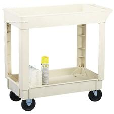 Continental Two Shelf Utility Cart