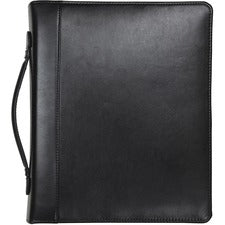 Samsill Regal Leather iPad Pocket Zipper Binder