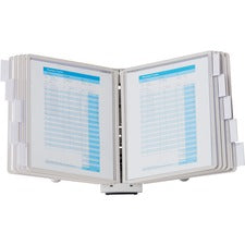 DURABLE® SHERPA® Desktop Reference Display System