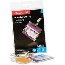 GBC Self-Sealing ID Badge Laminating Pouches