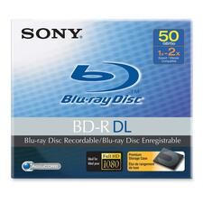 Sony Blu-ray Recordable Media - BD-R - 50 GB - 1 Pack