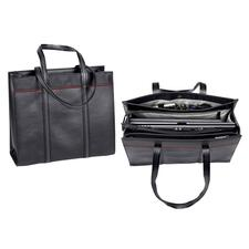 "Microsoft 39404 Carrying Case (Tote) for 11"" to 15"" Notebook - Black, Red"