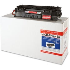 microMICR MICR Toner Cartridge - Alternative for HP 49A
