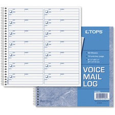 TOPS Voice Message Log Book