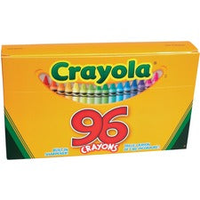 Crayola Built-in Sharpener 96 Count Crayons