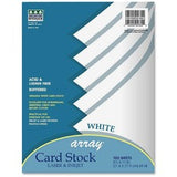 Pacon Laser Print Printable Multipurpose Card Stock - 10% Recycled