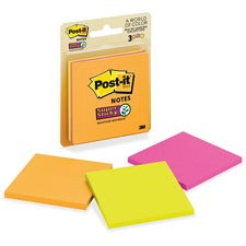 Post-it® Super Sticky Note Pads - Rio De Janeiro Collection