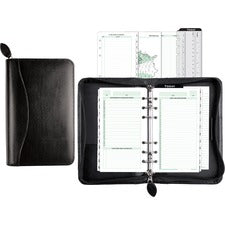 Day-Timer Bonded Leather Organizer Starter Set
