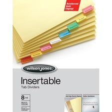 Wilson Jones Gold Line Insertable Dividers