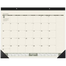 At-A-Glance Recycled Green Living Desk Pad