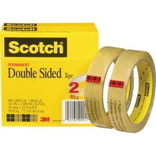 "Scotch Permanent Double-Sided Tape - 3/4""W"