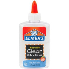 Elmer's Washable Clear School Glue