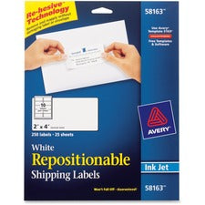 Avery® Repositionable Mailing Labels