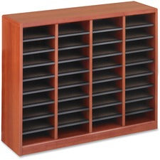 Safco E-Z Stor Light Wood Literature Organizers