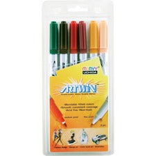 Uchida Artwin Assorted Colors Double-ended Markers