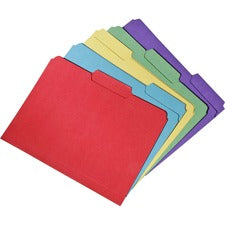 SKILCRAFT Recycled Double-ply Top Tab File Folder