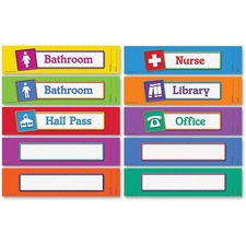Learning Resources Hall Passes Board