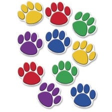 Teacher Created Resources Colorful Paw Prints Accent