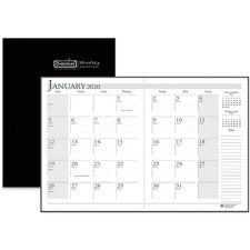 House of Doolittle Economy Stitched Cover Monthly Planner