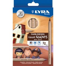 Lyra Color-Giants Skin Tone Colored Pencils