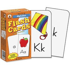 Carson Dellosa Education PreK-Grade 1 Alphabet Flash Cards Set