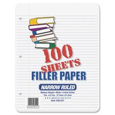 Ampad 3 - Ring Notebook Filler Paper - Letter