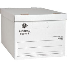 Business Source Economy Storage Box with Lid
