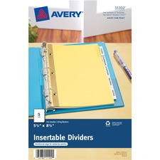 Avery® Mini Insertable Tab Dividers