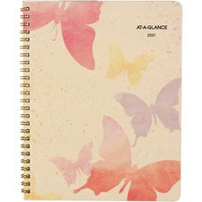 At-A-Glance Watercolors Monthly Planner