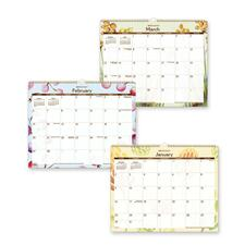 Day Runner PM1791G Watercolor Theme Wall Calendar