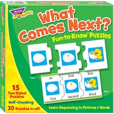 Trend What Comes Next Fun-to-know Puzzles