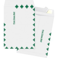 Business Source DuPont Tyvek 1st Class Envelopes