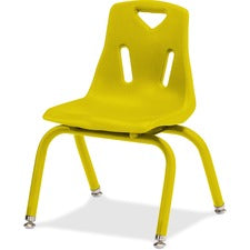 Jonti-Craft Berries Plastic Chairs with Powder Coated Legs