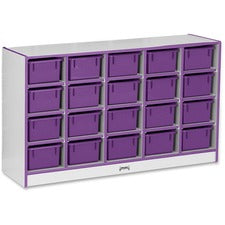 Rainbow Accents Rainbow Accents Cubbie-trays Storage Unit