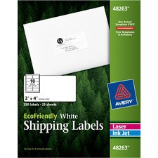 Avery® EcoFriendly Shipping Labels